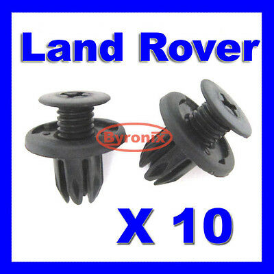 Land Rover Discovery 2 Front Cowl Radiator Grille Plastic Clips Dyq100230 Black • 2.52£