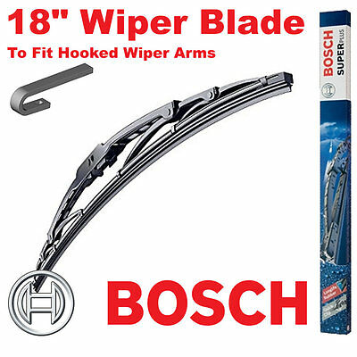 Bosch 18  Inch Super Plus Universal Wiper Blade SP18 For Hooked Wiper Arms • 5.99£