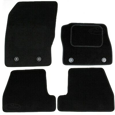 Fits Ford Focus Mk3 2011-2018 Fully Tailored Carpet Car Mats Black 4pc Floor Set • 10.99£