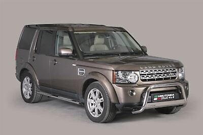 Land Rover Discovery 4 Bull Bar Nudge A-Bar 63mm Steel Chrome EC APPROVED • 299.99£