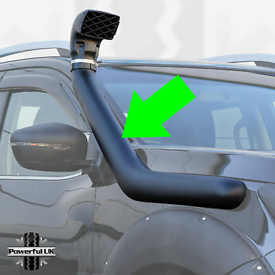 Cosmetic Snorkel Kit For Nissan Navara NP300 D23 (2015+) • 74£