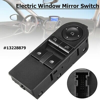 Front Right Electric Window Mirror Switch RH For Vauxhall Astra H Zafira B  • 13.59£