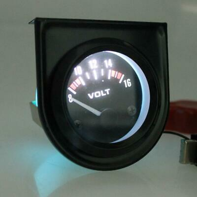 52mm Universal Car 8-16V Voltmeter Volt Gauge Meter 52mm Auto Car Volts • 8.17£