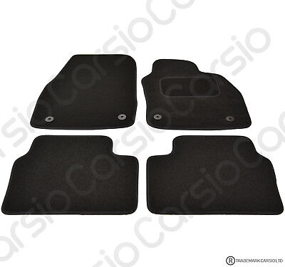 Vauxhall Astra H MK5 2004 - 2010 Tailored Black Car Floor Mats Carpets 4pc Set • 11.95£