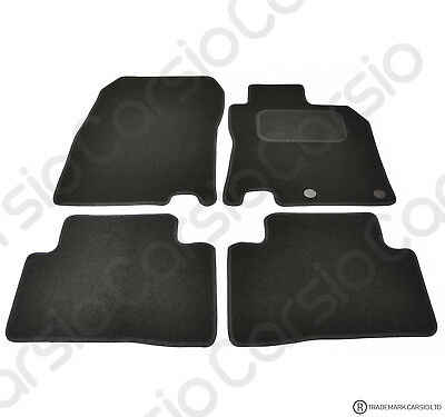 Tailored Black Car Floor Mats Carpets FOR Nissan Qashqai 2014 - Onwards 4pc Set  • 11.85£