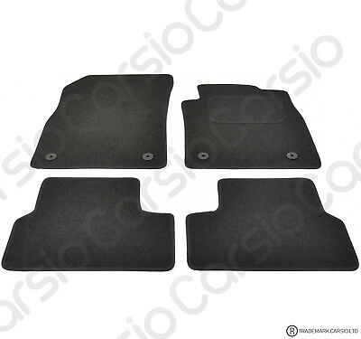 Vauxhall Astra J MK6 2010 To 2015 Tailored Black Car Floor Mats Carpets 4pcs • 11.85£