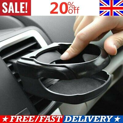 Universal Clip On Cup Holder For Car Van Air Vent Holds Bottle Can Drink Cup UK • 5.99£