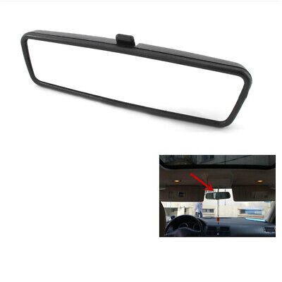 New VW REAR VIEW MIRROR For T5 GOLF AUDI SEAT CADDY SKODA BLACK 1X TRANSPORTER • 14.27£