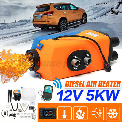 12V 5KW Diesel Air Night Heater LCD Monitor Remote Trucks Boats Car Home • 89.99£