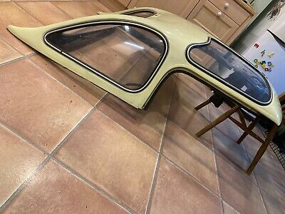 MGB V8 MGC Roadster Bermuda Hard TOP WITH FREE FRONT CLIPS VINTAGE GOODWOOD CAR • 525£