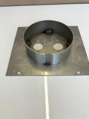 Chinese Diesel Heater Mounting Plate Stainless Steel 30mm Turret Planar. • 18.75£